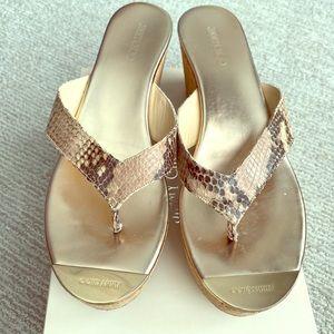 Jimmy Choo platform cork Pathos sandals - Size 42